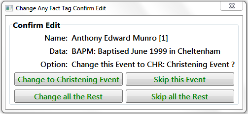 Confirm Edit